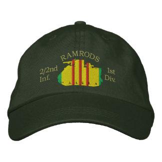 2/2nd Inf. Vietnam Service Ribbon M113 Track Hat Baseball Cap