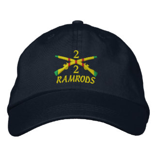 2/2nd Infantry Crossed Rifles Embroidered Hat