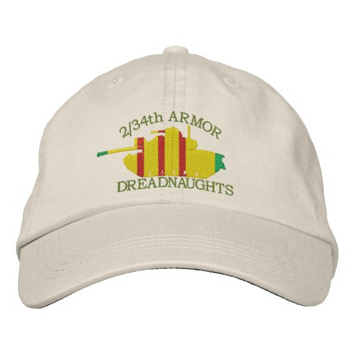 2/34th Armor VSM M48 Embroidered Hat