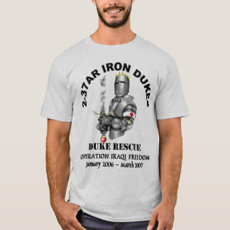 2-37AR Medical Platoon OIF T-Shirt