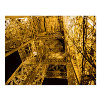 2/3 Up the Eiffel Tower Postcard