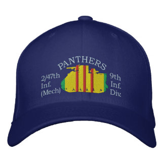 2/47th Inf. Panthers M113 Four-Side Hat Embroidered Baseball Cap
