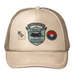 2/47th Infantry New Panthers Patch Cap Trucker Hat