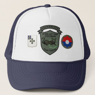 2/47th Infantry Subdued Panthers Patch Cap