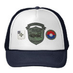 2/47th Infantry Subdued Panthers Patch Cap Trucker Hat