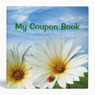 """2.8"""" Coupon Book Vinyl Binder"""