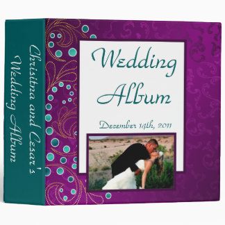 "2.8"" Photo Binder Arabian Purple"