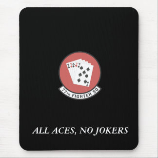 2-AI, ALL ACES, NO JOKERS MOUSE PAD