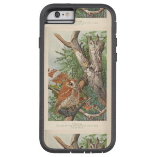 2 angry vintage owls in a tree tough xtreme iPhone 6 case