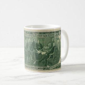2 $ Bill ( Back ) Coffee Mug
