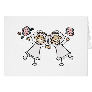2 Brides Card