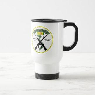 2 CAMPAIGN STARS VIETNAM WAR VETERAN COFFEE MUGS