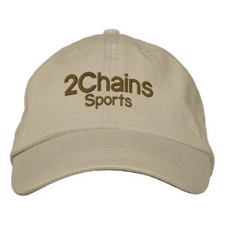 2 Chains adjustable baseball cap