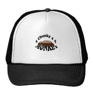 2 chunky for a monkey trucker hat