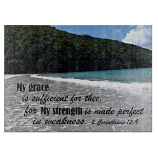 2 Corinthians 12:9 My grace is sufficient for thee Boards