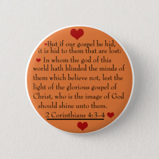 2 Corinthians 4:3-4  gospel button