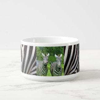 2 Cute Zebras Bowl
