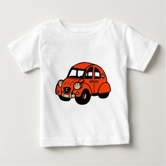 2 cv vintage french car baby T-Shirt