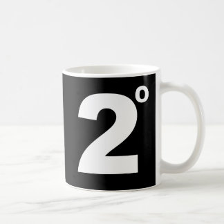2 degrees of climate change mug