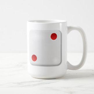 2 Dice Roll Coffee Mugs