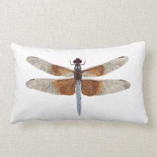 2 dragonflies 9! per side) lumbar pillow