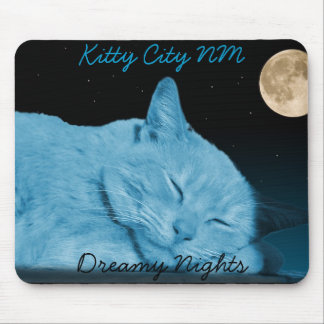 2, Dreamy Nights, Kitty City NM Mouse Pad