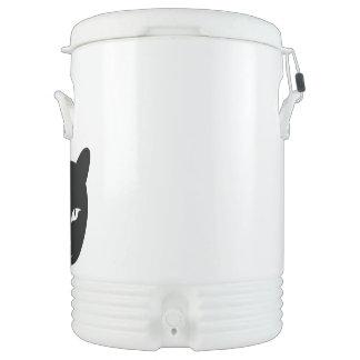 2 faced animal Igloo Beverage Cooler, Ten Gallon Drinks Cooler