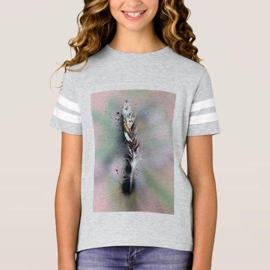 2 Feather Kids T-Shirt