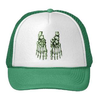 2 Feet Down Green Trucker Hat