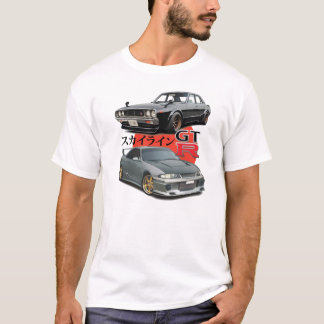 2 Generations - GTR Skyline T-Shirt