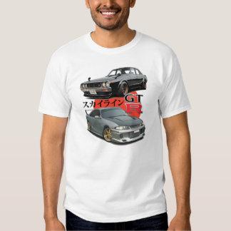 2 Generations - GTR Skyline Tee Shirts