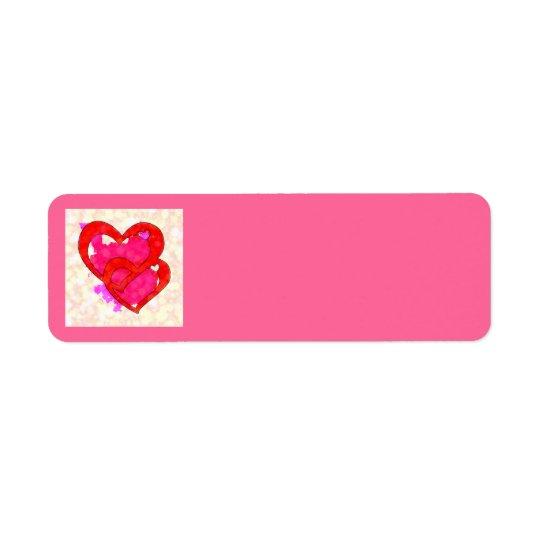 2 HEARTS Address Labels