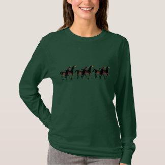 2 Horses T-Shirt