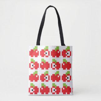 2-in-1 8-bit Apples Tote