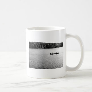 2 in a canoe WQalden Pond 1971 Coffee Mug