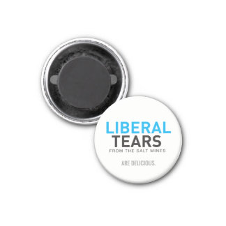 2 Inch Square Magnet Liberal Tears are Delicious