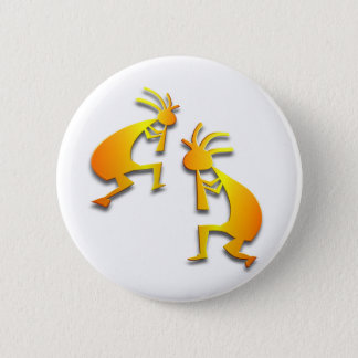 2 Kokopelli #15 2 Inch Round Button