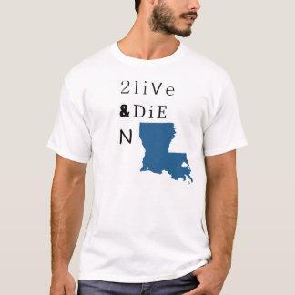 2 Live & Die N LA T-Shirt