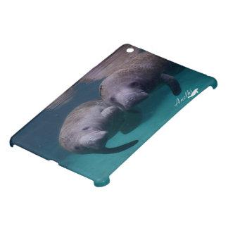 2 Manatee Friends Ipad Mini case