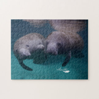 2 Manatee Friends puzzle