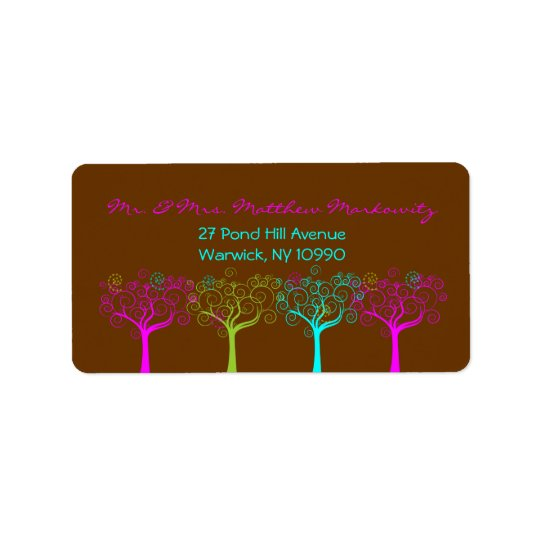 2- Markowitz Return Address Label