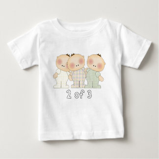 2 of 3 Triplets Baby T-Shirt