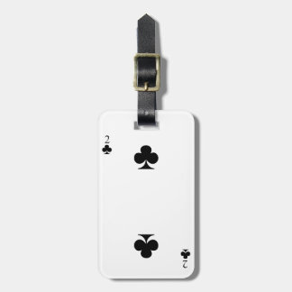 2 of Clubs Bag Tag