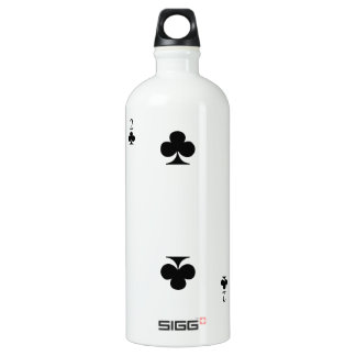 2 of Clubs Water Bottle