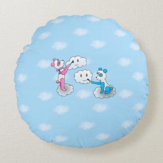 2 panda pillow