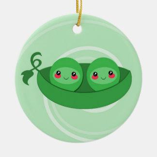 2 PEAS in a POD - ornament
