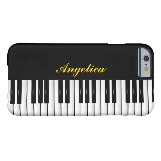 #2 piano keyboard customisable barely there iPhone 6 case