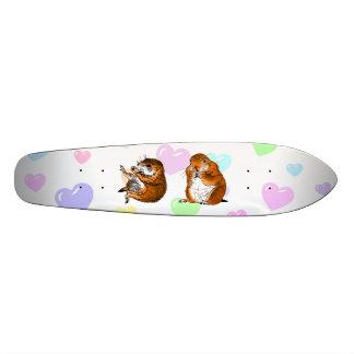 2 prairie dogs skateboard decks