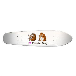 2 prairie dogs skate deck