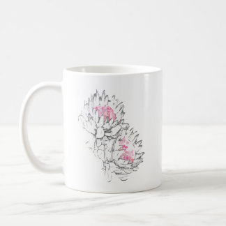 2 protea mug